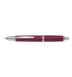 Stylo plume rétractable PILOT CAPLESS wooden bouleau rouge