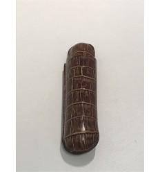 Etui 1 cigare RECIFE cuir cuba libre brun