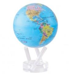 Globe Mova blue with political petit modèle