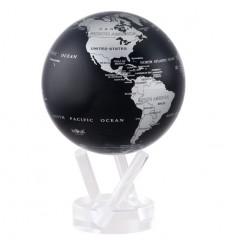 Globe Mova gris et noir métallique petit modèle