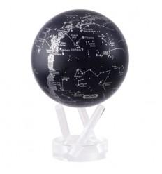 Globe Mova constellation noir et gris métallique petit modèle