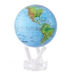 Globe Mova bleu avec relief grand modèle