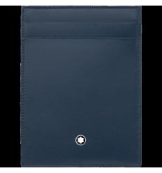 Pochette Meisterstück bleu 4cc carte d'identité