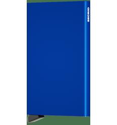 Protège cartes alu Secrid bleu
