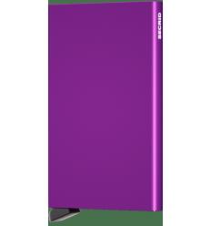 Protège cartes alu Secrid violet