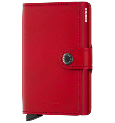 Protège cartes mini wallet Secrid original red
