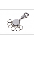 Porte clés Troïka mousqueton anneaux