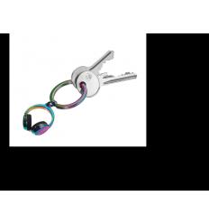 Porte clés Troïka casque audio arc-en-ciel