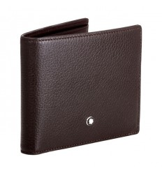 Porte cartes Soft Grain 6 cc marron