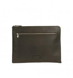 Conférencier A4 souple zippé noir A.G. Spalding & Bros