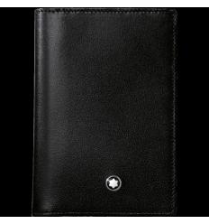 Porte cartes de visite Meisterstück noir soufflet