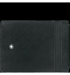 Pochette Meisterstück noir 4 cc porte carte d'identité
