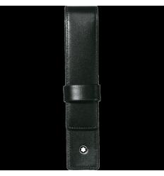 Etui Montblanc Meisterstück noir 1 stylo à rabat