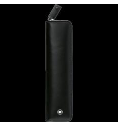 Etui Montblanc Meisterstück noir 1 stylo zippé