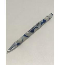 Stylo bille RECIFE pearl bleu