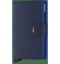 Protège cartes mini wallet Secrid original navy blue