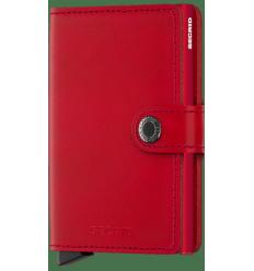 Protège cartes mini wallet Secrid original red