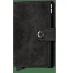 Protège cartes mini wallet Secrid vintage black
