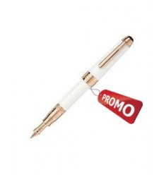 Stylo plume Mini Tribute To The Montblanc laque blanche or rose (M)