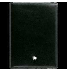 Portefeuille Meisterstück noir 7 cc porte carte d'identité